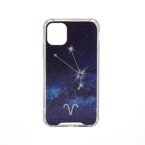 Swarovski Crystal-Inspired Horoscope Star Sign Constellation Phone Case (ARIES)