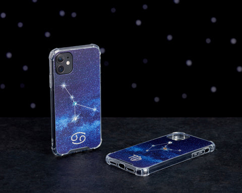 Swarovski Crystal-Inspired Horoscope Star Sign Constellation Phone Case (CANCER)