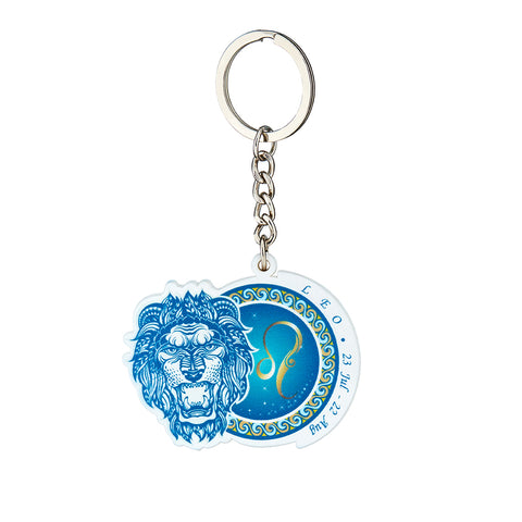 Image of Premium Quality Leo Horoscope Keychain