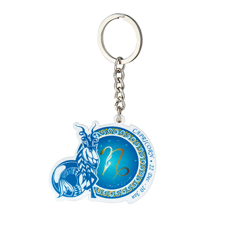 Image of Premium Quality Capricorn Horoscope Keychain