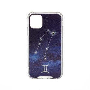 Swarovski Crystal-Inspired Horoscope Star Sign Constellation Phone Case (GEMINI)