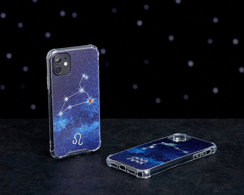 Swarovski Crystal-Inspired Horoscope Star Sign Constellation Phone Case (LEO)