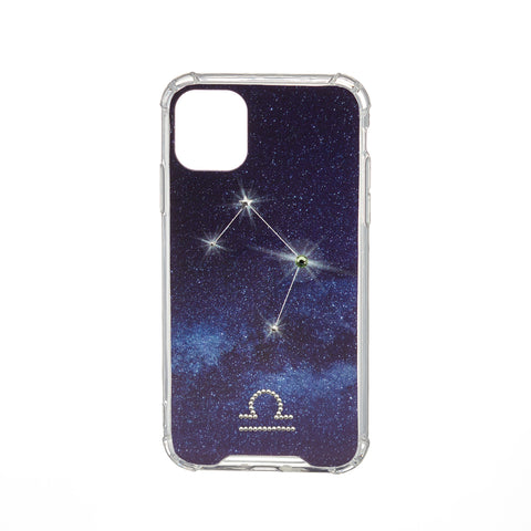 Image of Swarovski Crystal-Inspired Horoscope Star Sign Constellation Phone Case (LIBRA)