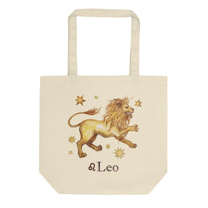 Leo Celestial Painting Eco Tote Bag