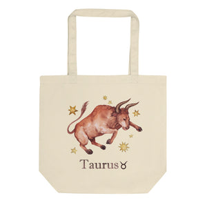 Taurus Celestial Painting Eco Tote Bag