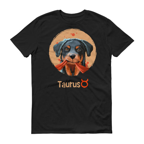 Strong Taurus Short-Sleeve Dark T-Shirt