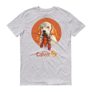 Intuitive Cancer Dog Short-Sleeve T-Shirt