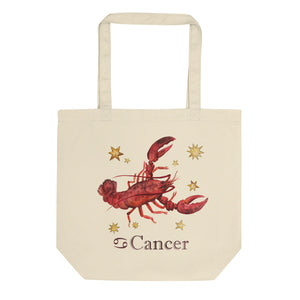 Cancer Celestial Painting Eco Tote Bag