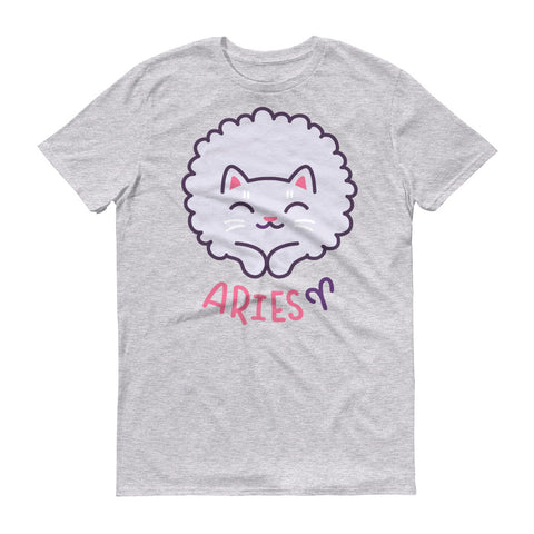 Image of Aries Cat Short-Sleeve T-Shirt