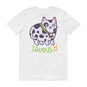 Taurus Cat Short-Sleeve T-Shirt