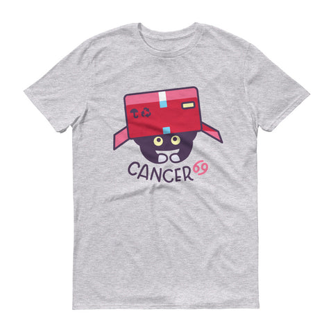 Cancer Cat Short-Sleeve T-Shirt
