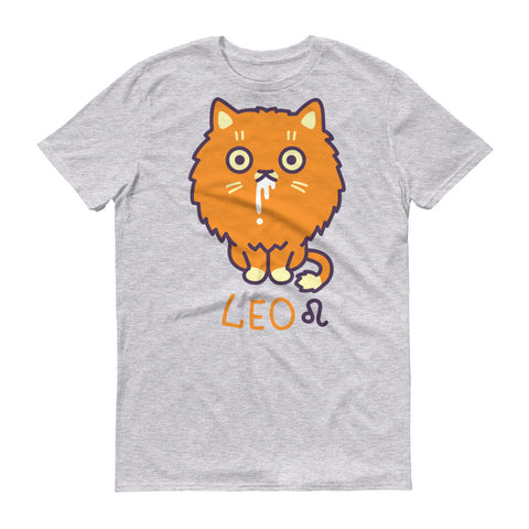 Leo Cat Short-Sleeve T-Shirt