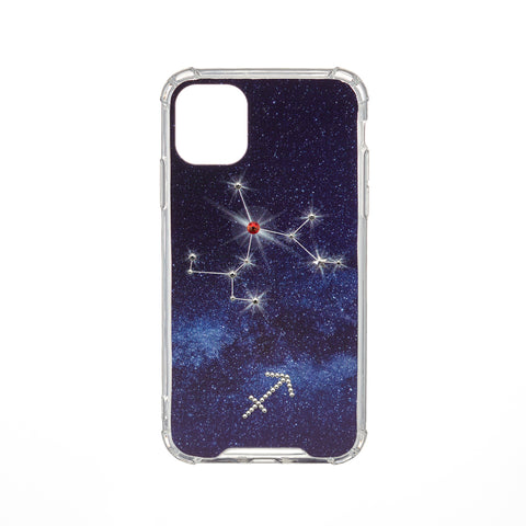 Swarovski Crystal-Inspired Horoscope Star Sign Constellation Phone Case (SAGITTARIUS)