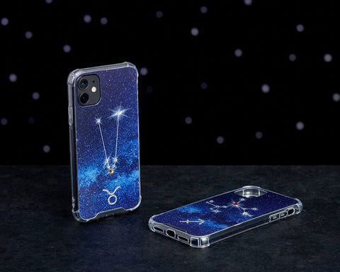 Swarovski Crystal-Inspired Horoscope Star Sign Constellation Phone Case (TAURUS)