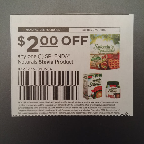 Splenda (FS) - SET OF 10