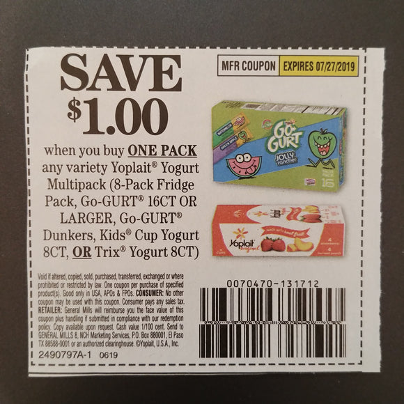 Yoplait (FS) - SET OF 10