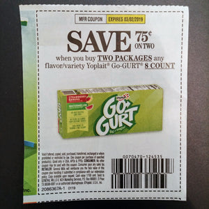 Yoplait Go-Gurt (FS)