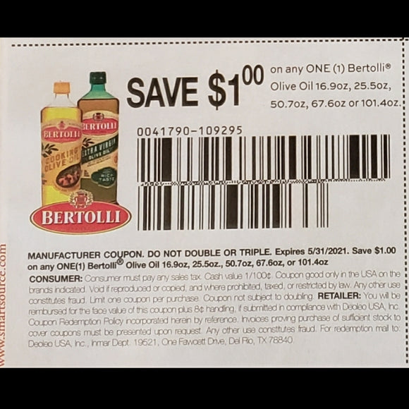 Bertolli - SET OF 10