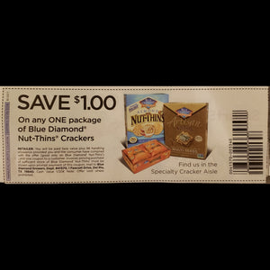 Blue Diamond Nut-Thins (FS) - SET OF 10