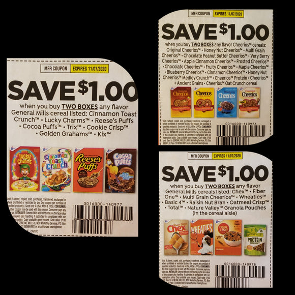 General Mills Strip (FS) - SET OF 10