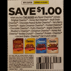 Cheerios - SET OF 10