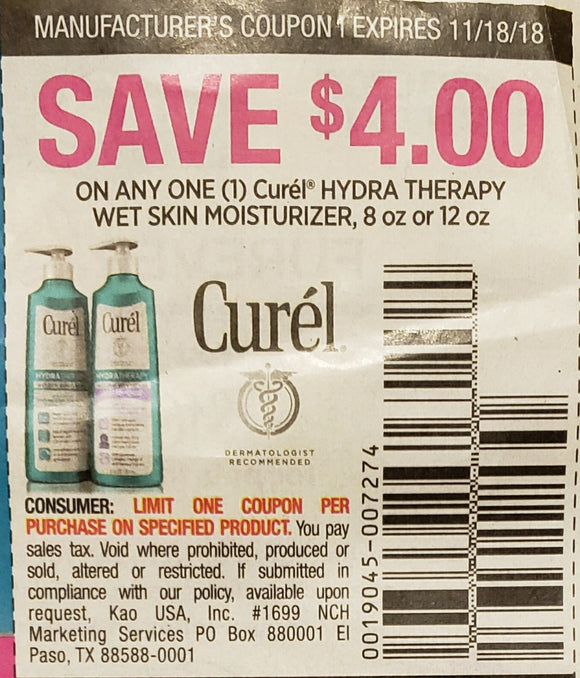 Curel (FS) - SET OF 10