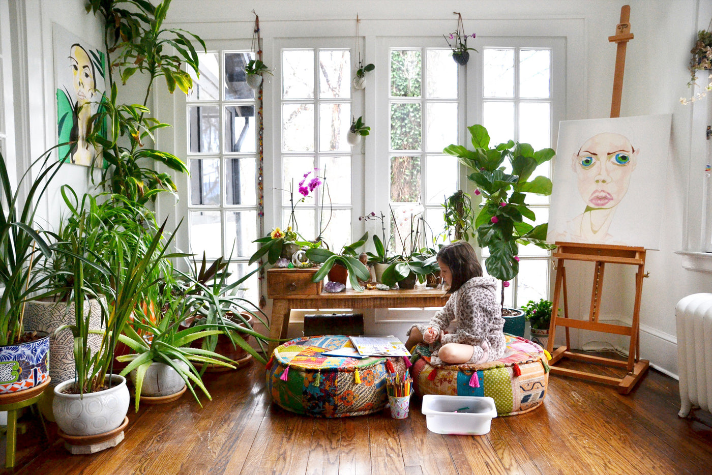 Three ways houseplants help keep you healthy.