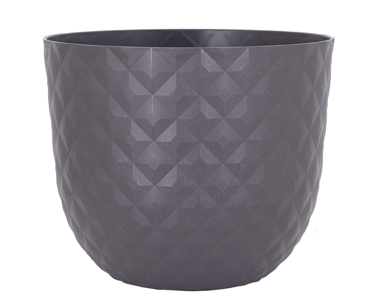 Havana pot tropical - charcoal brown