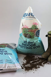 Indoor potting soil