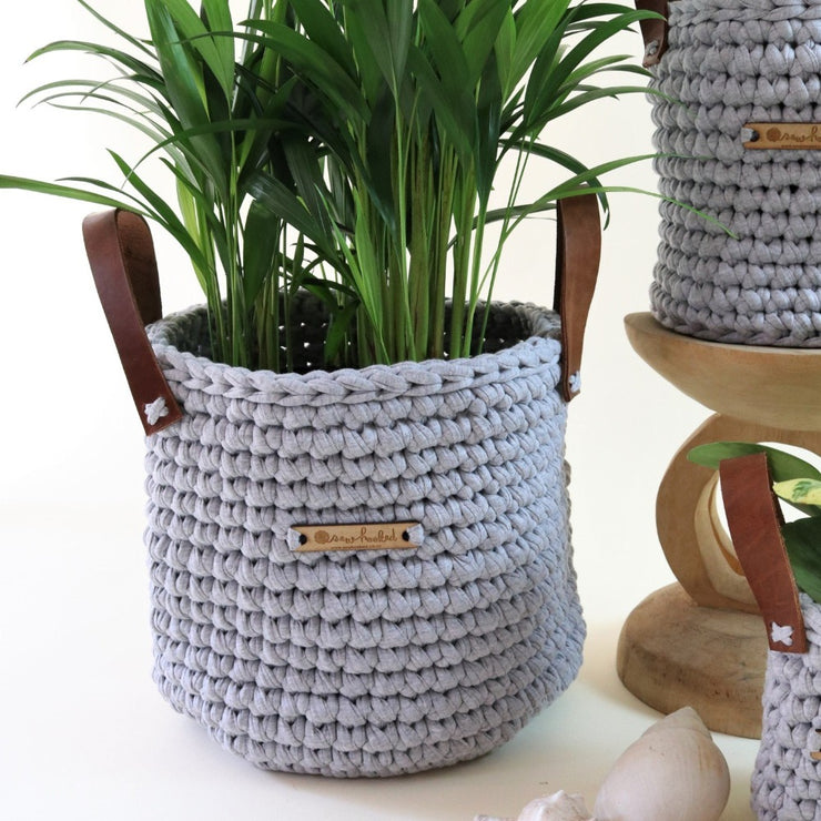 Yarn basket grey