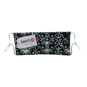 Lombok Collection Rectangle Batik Face Covering - Hibiscus