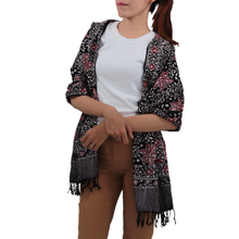 Load image into Gallery viewer, Batik Gili Face Covering & Scarf Set - Star
