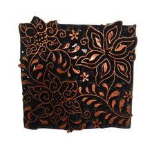 Load image into Gallery viewer, Lombok Collection Rectangle Batik Face Covering - Star
