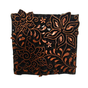 Lombok Collection Rectangle Batik Face Covering - Star
