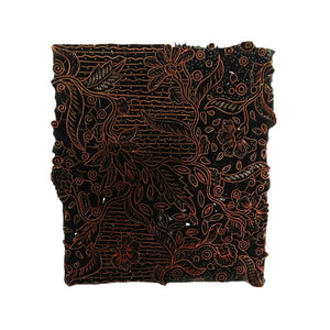 Lombok Collection Rectangle Batik Face Covering - Butterfly
