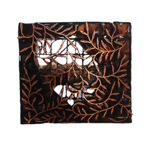 Lombok Collection Rectangle Batik Face Covering - Twig