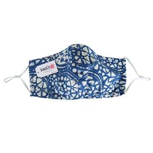 Batik Face Mask with Insert Pocket - Red