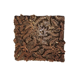 Lombok Collection Rectangle Batik Face Mask - Butterfly