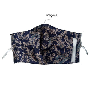 Lombok Collection Rectangle Batik Face Mask - Chips