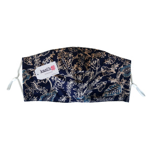 Lombok Collection Rectangle Batik Face Mask - Star