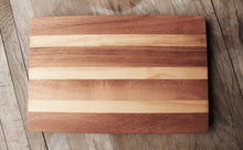 Load image into Gallery viewer, Acacia & Suar Wood 12inches x 8inches x 0.8inches Rectangle Cutting Board