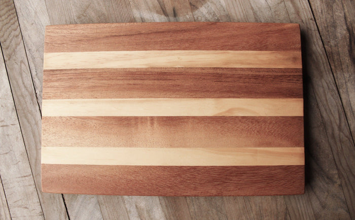 Acacia & Suar Wood 12inches x 8inches x 0.8inches Rectangle Cutting Board