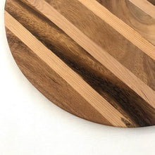 Load image into Gallery viewer, Kasih Coop Acacia Wood 12inches Round Cutting Board