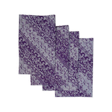 Load image into Gallery viewer, Batik Cloth Napkin Set of Four - Blade