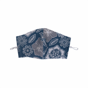 Gili Collection Batik Face Covering - Bluebell