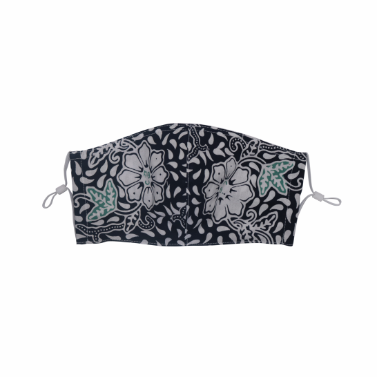 Gili Collection Batik Face Covering - Citrus