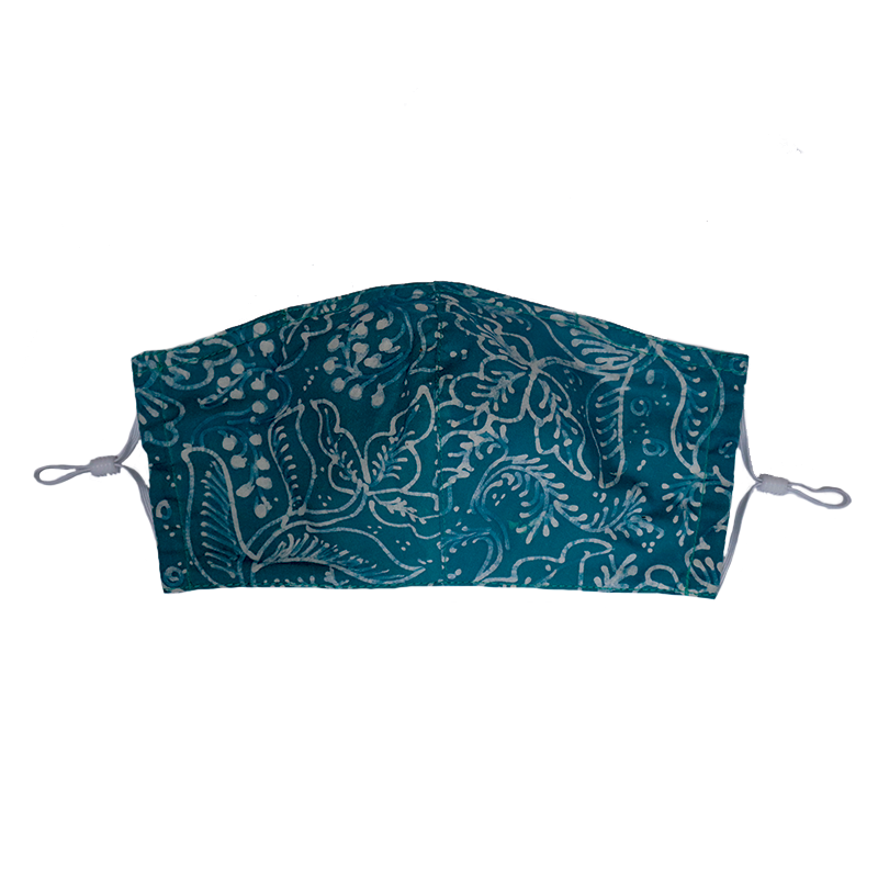 Gili Collection Batik Face Covering - Allure - Hand Drawn Batik