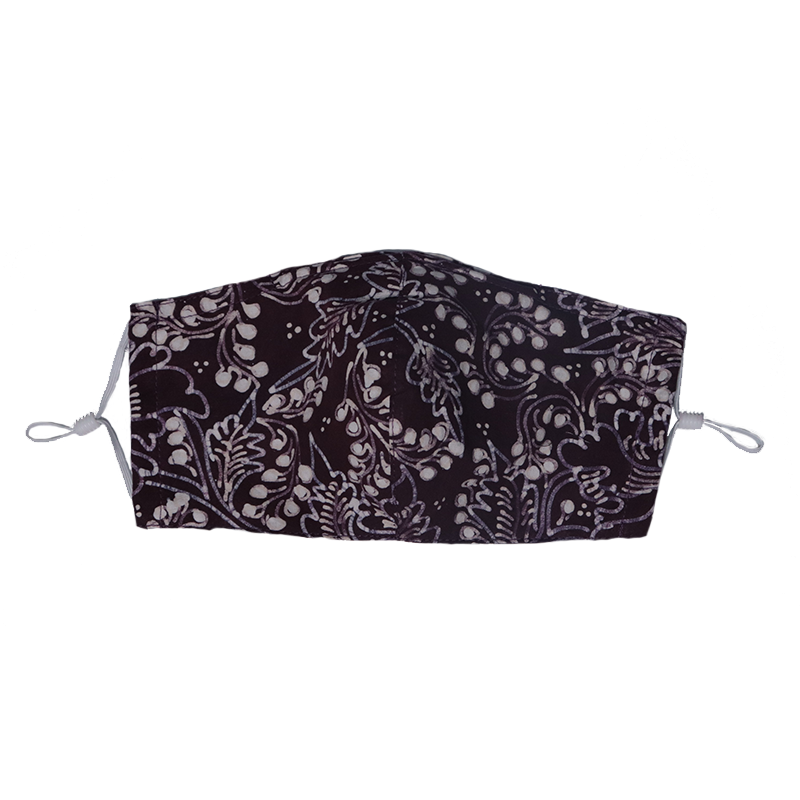 Gili Collection Batik Face Covering - Phoenix - Hand Drawn Batik