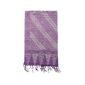 Batik Scarf - Cotton - Blade
