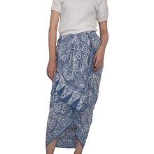 Load image into Gallery viewer, Batik Sarong / Shawl / Beach Wrap - Cotton - Stone